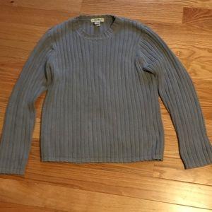 4/$15 👀 Eddie Bauer crewneck 100% cotton sweater